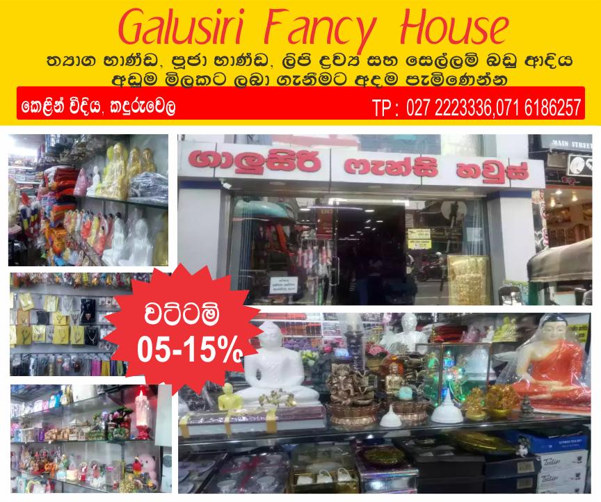 Galusiri fancy house